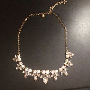 Jcrew Gold Chained Statement Necklace